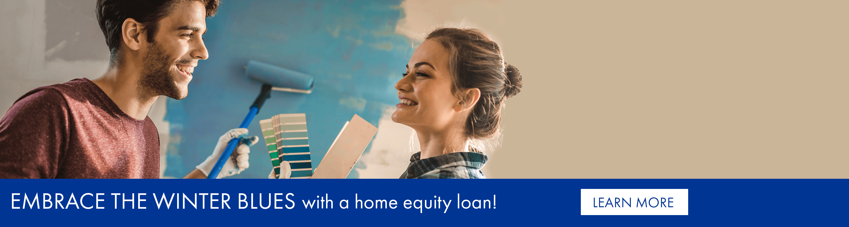 Embrace the winter blues with a home equity loan!