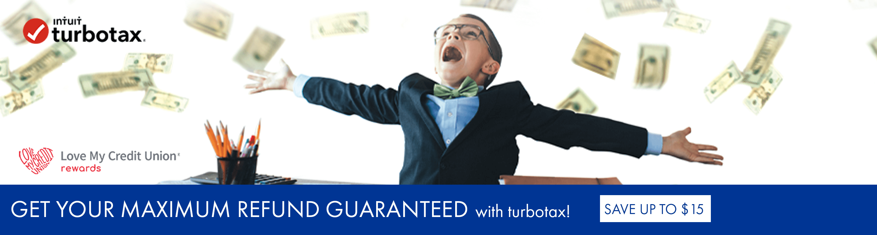 Get your maximum refund guaranteed with turbotax! Save up to $15