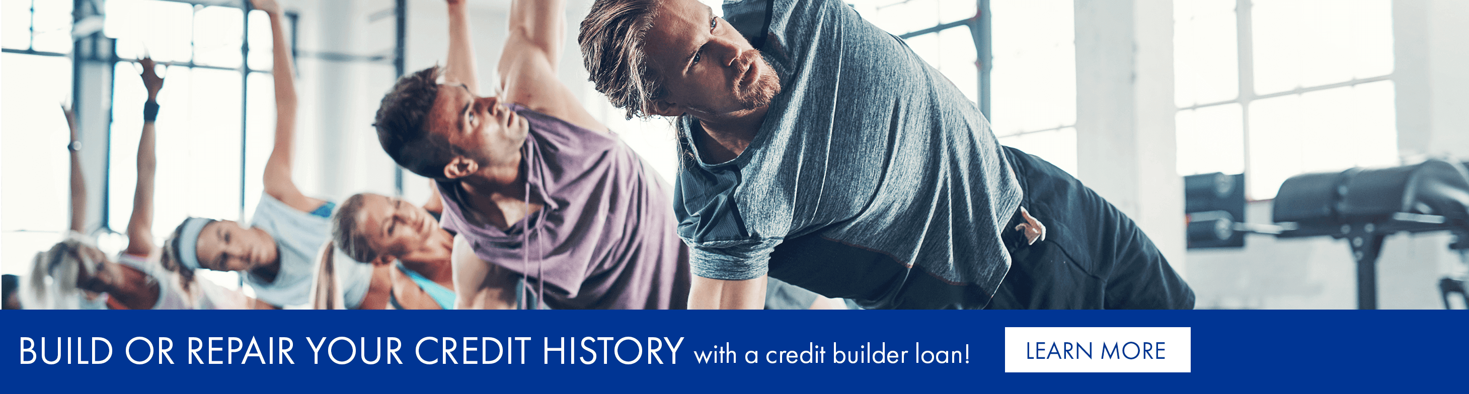 Build or repair your credit history with a credit builder loan!
