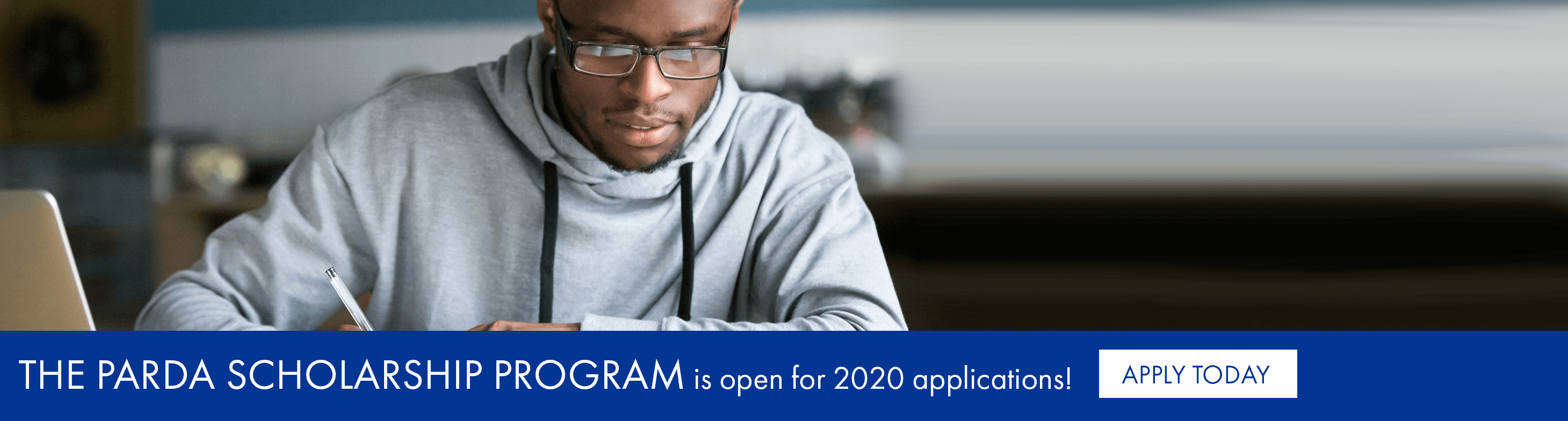 The PARDA scholarship program is open for 2020 applications!