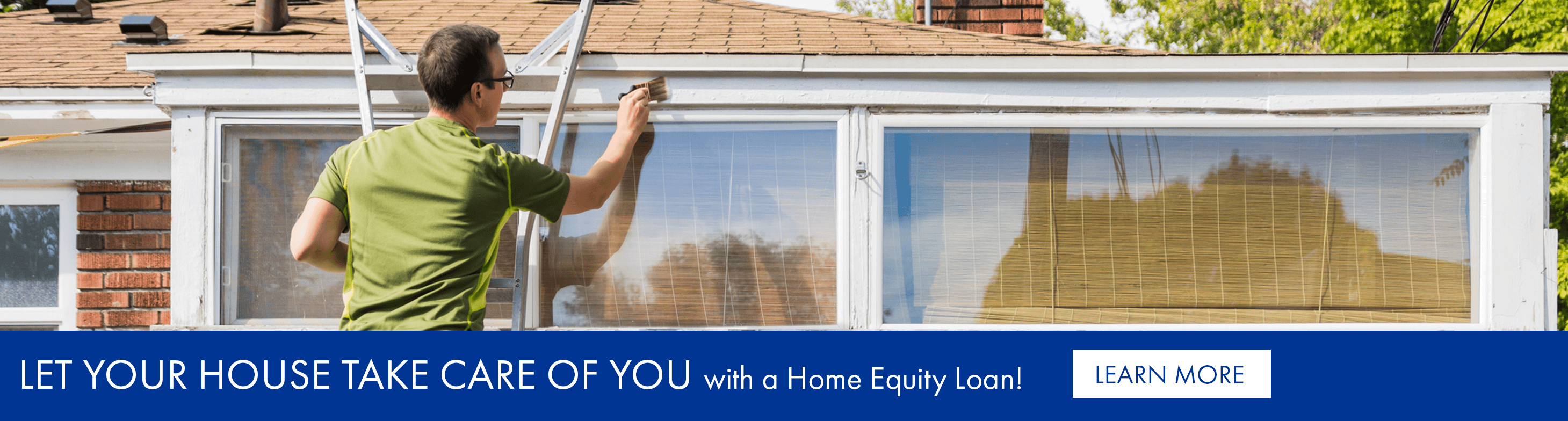 Let your house take care of you with a home equity loan!