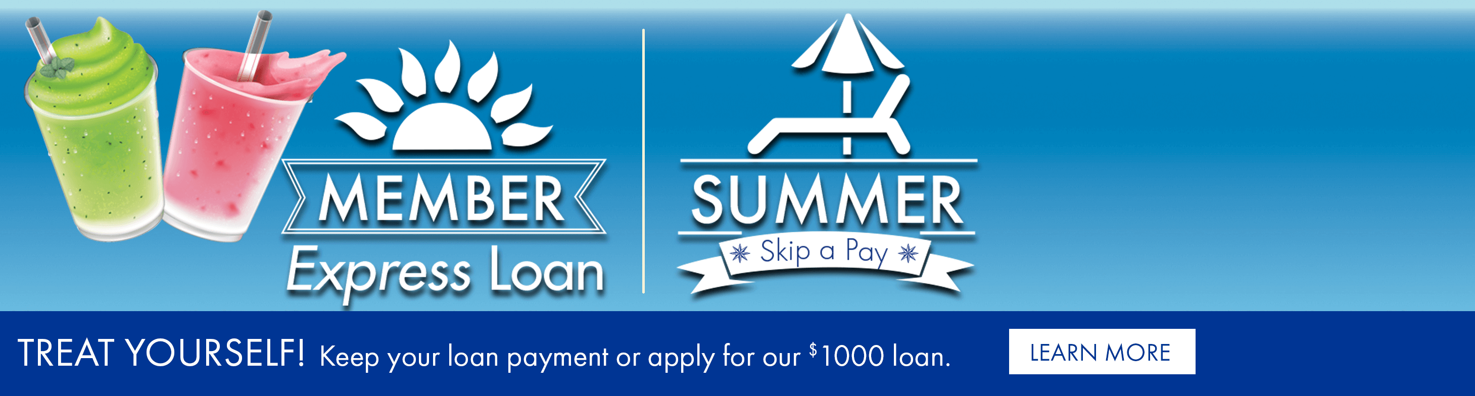 Treat yourself! Keep your loan payment or apply for our $1000 loan.