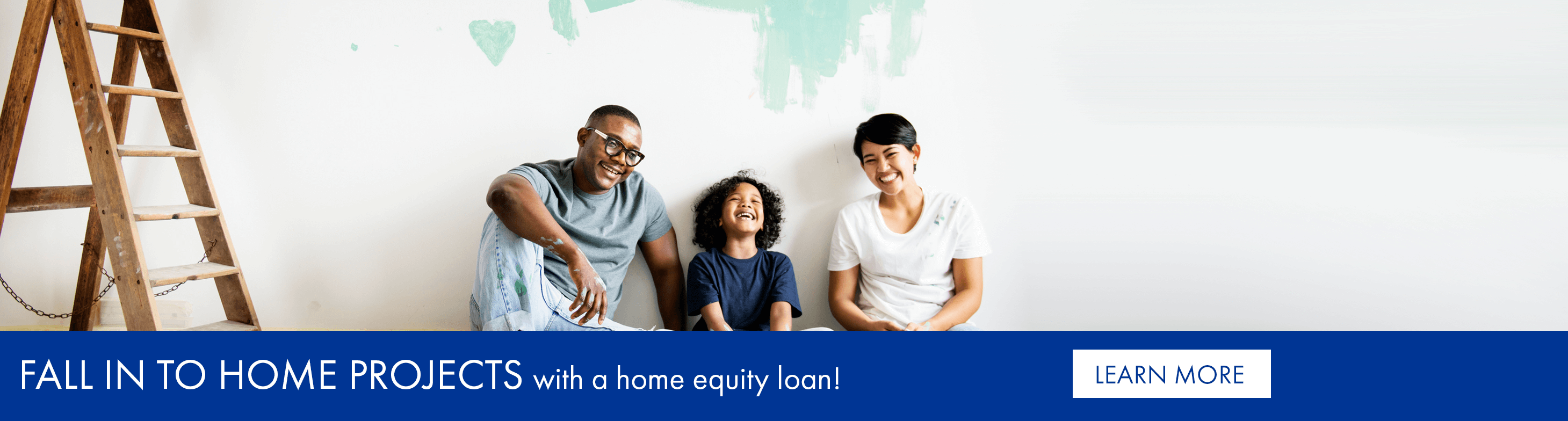 Fall in to home projects with a home equity loan!