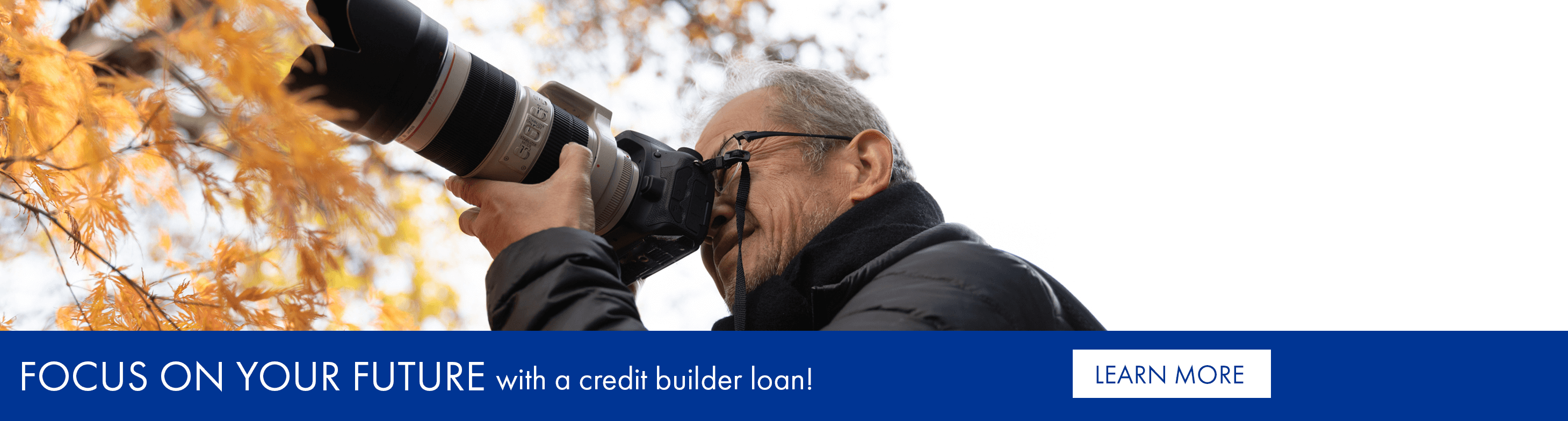 Focus on your future with a credit builder loan!