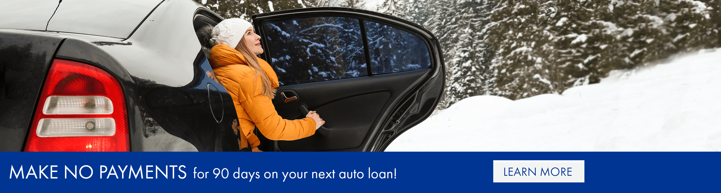 Make no payments for 90 days on your next auto loan!