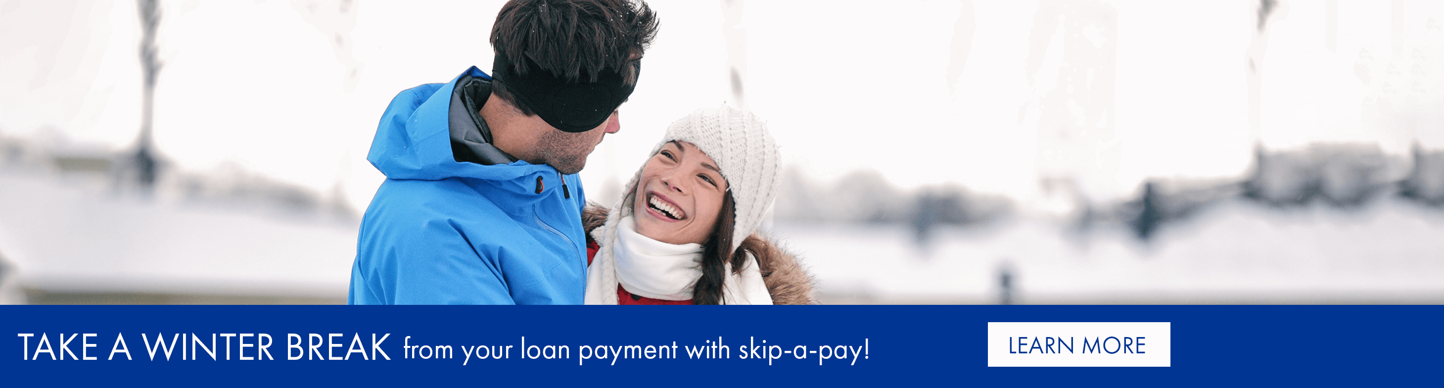 Take a winter break from your loan payment with skip-a-pay!