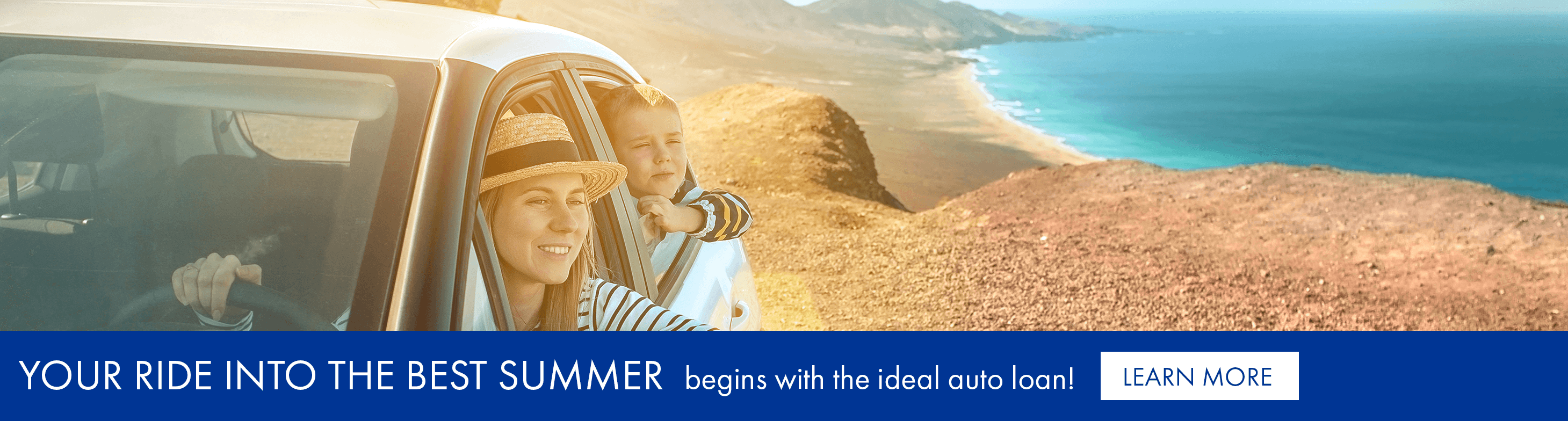 Your ride into the best summer begins with the ideal auto loan!