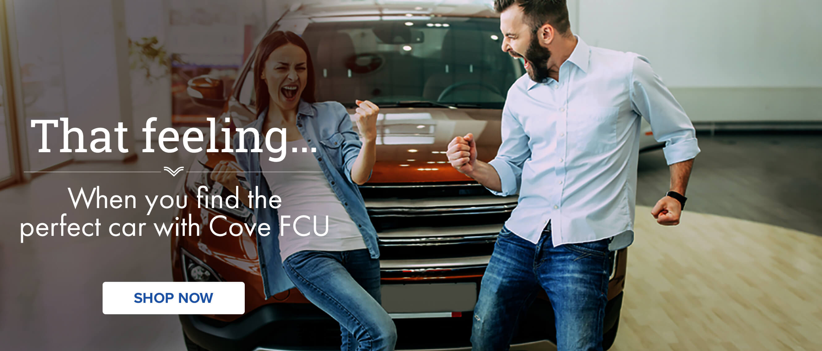 That feeling When you find the perfect car with Cove FCU