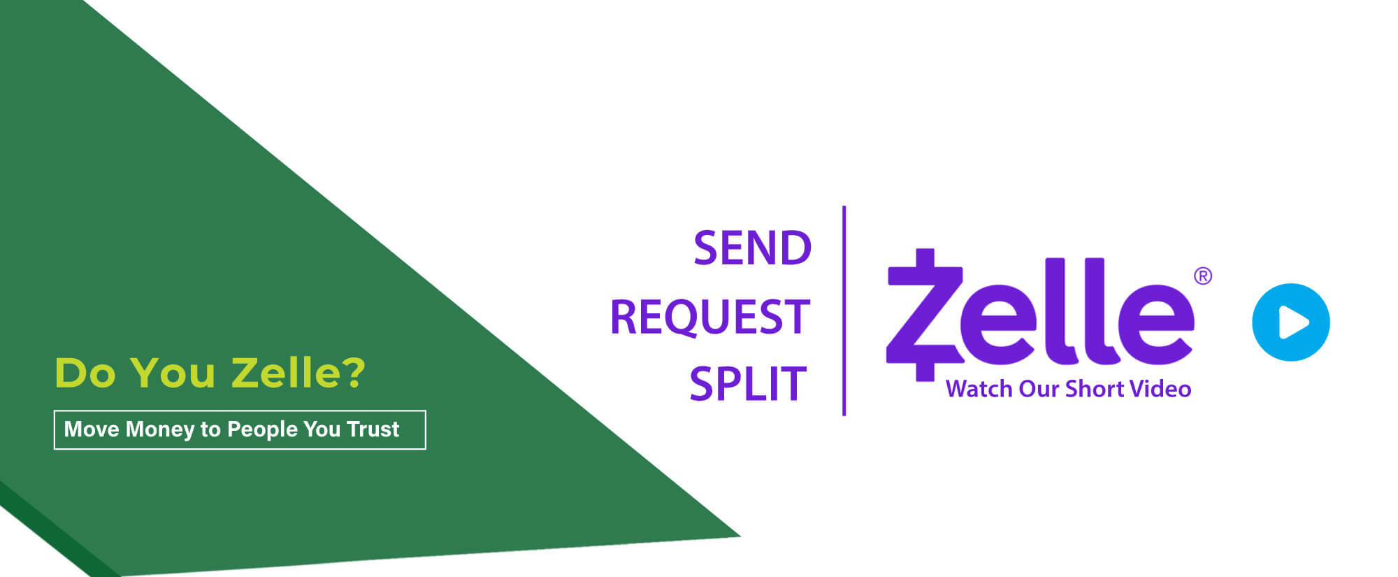 Do you Zelle? Watch our how-to video