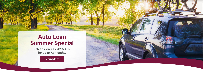 2.49 Auto Loan Special